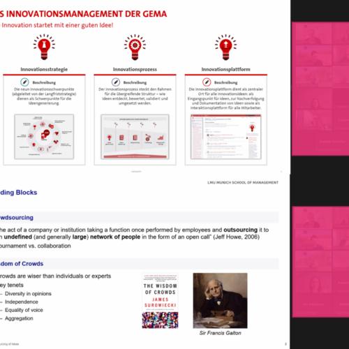 """Recap IBC X-Change: Wissenschaft und Wirtschaft tauschen sich zum Thema """"Crowdsourcing von Ideen"""" aus"""